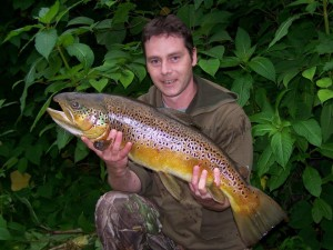 Irwell Record Trout