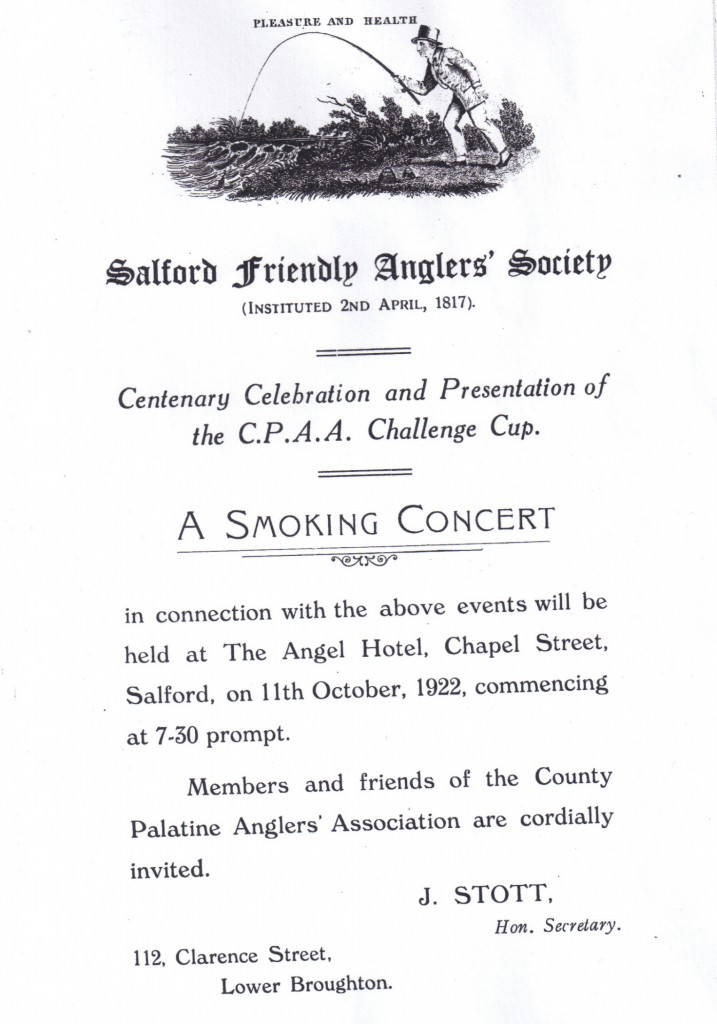 Smokers Evening 1922