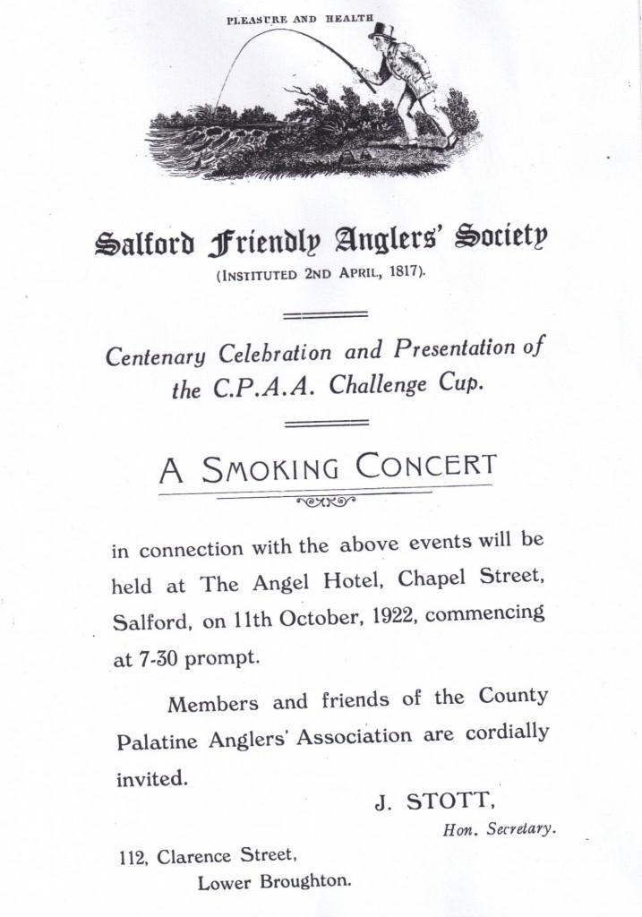 Smokers Evening 1922