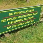 No Polish Or Eastern Europeans Allowed