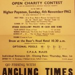 Wallness Social Angling Society Spastics Effort 1962