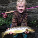 Fishing irwell trout